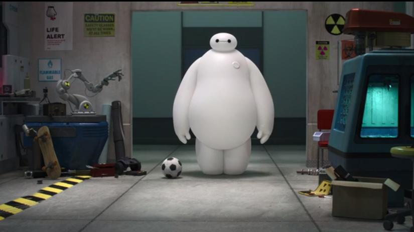 Big Hero 6 trailer -- OFFICIAL Disney