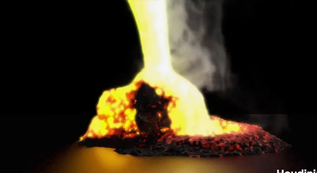 Houdini: Lava RnD