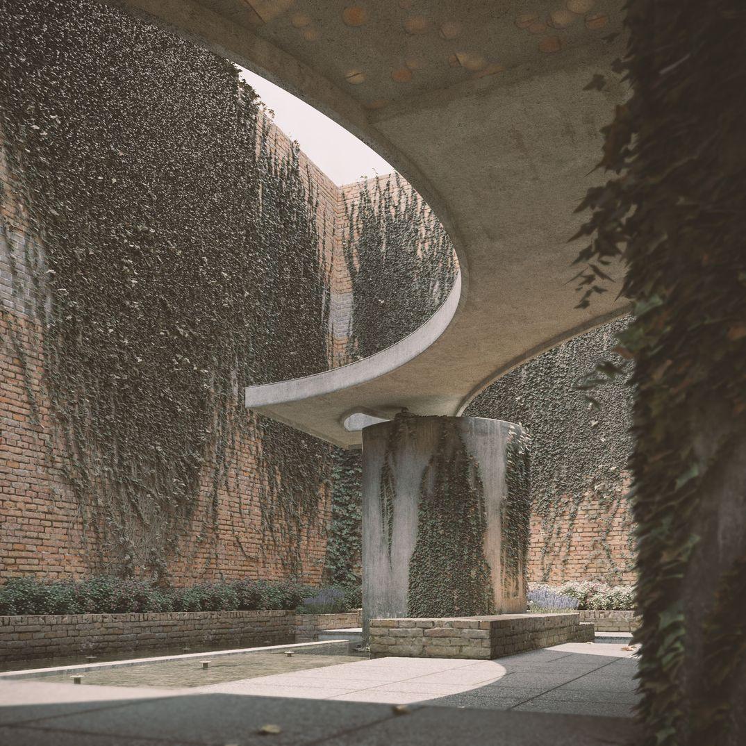 Giardini delle sculture - Carlo Scarpa