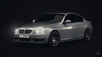 3D BMW car model