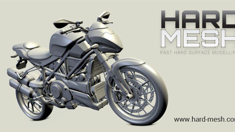 Hard Mesh - Fast Hard Surface Modelling
