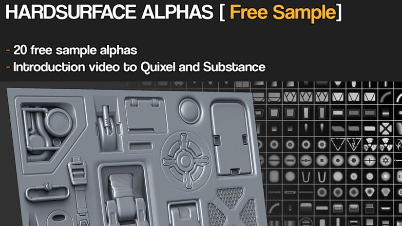 Hard Surface Alpha: 20 sample da scaricare gratuitamente