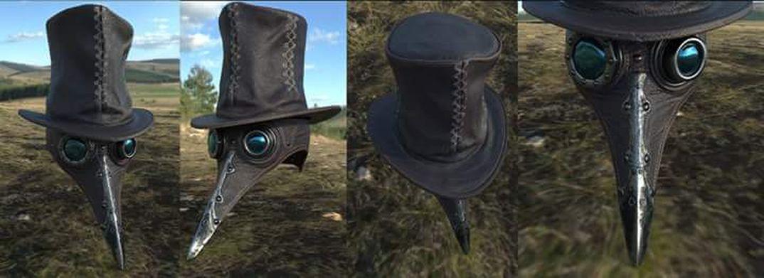 Maschera corvina
