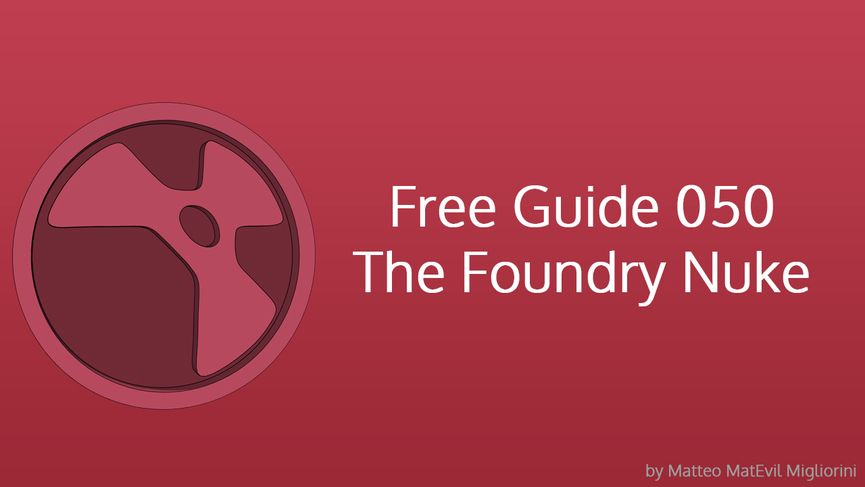 Free Course The Foundry Nuke 050