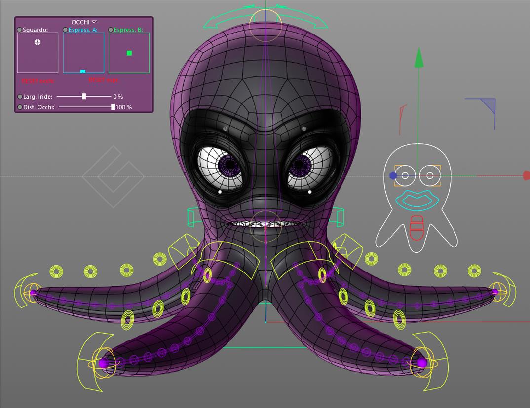 Mel - 3D Octopus