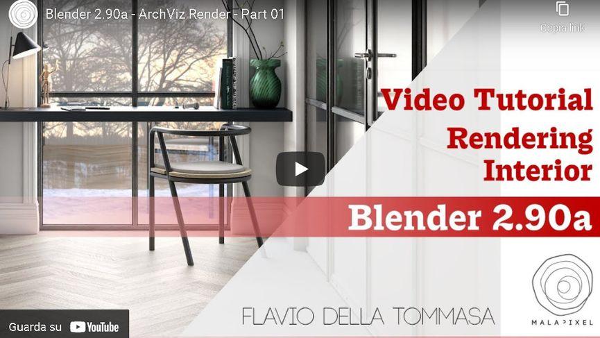 Video Tutorial Blender ArchViz