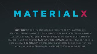 MaterialX: un nuovo standard open source per la definizione dei materiali