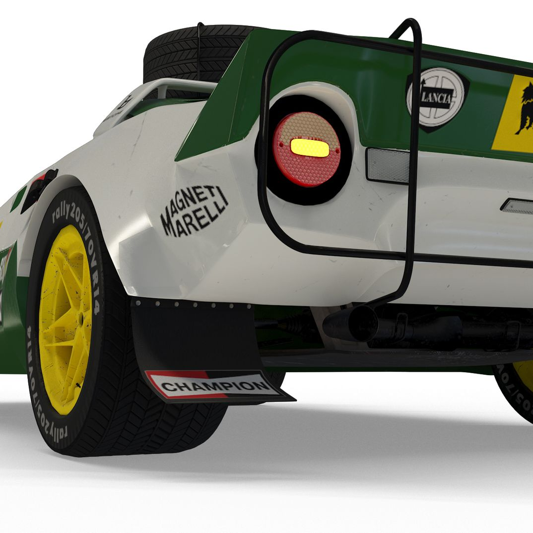 Lancia Stratos HF (rally version)