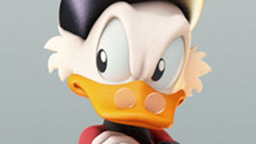 "Making of ""Uncle Scrooge"""