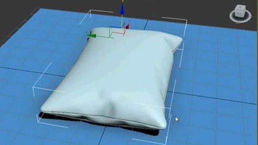 """Modellazione di un cuscino col metodo a """"pressione"""""""