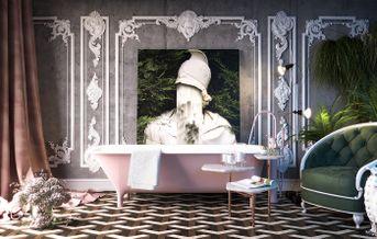 Bathroom / Corona light mixer