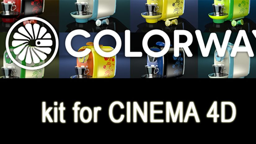 COLORWAY kit for CINEMA 4D