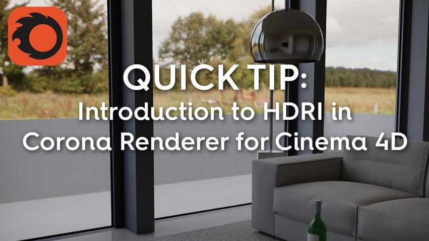 HDRI in Corona Renderer per Cinema 4D