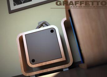 Progetto complemento d'arredo d'angolo - Graffetto