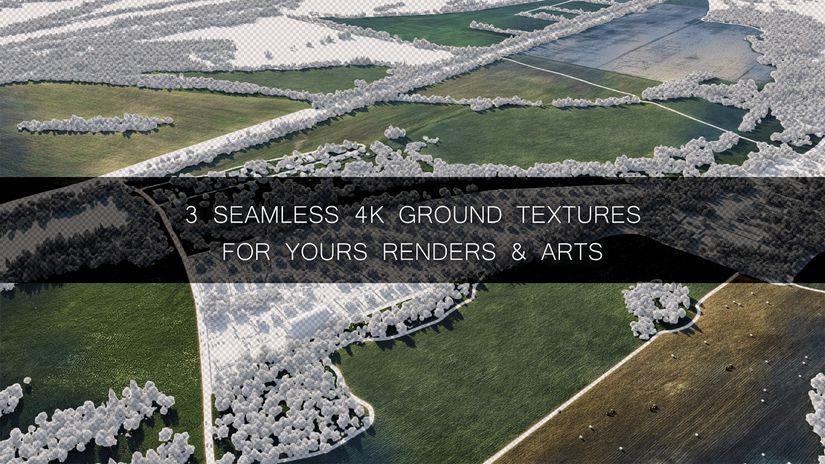Free Texture 4k ripetibili di terreni