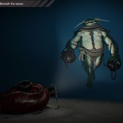 alcorn-Beneath the Waves challenge - Game Character Art (real-time)