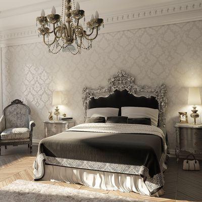 camera da letto stile neoclassico