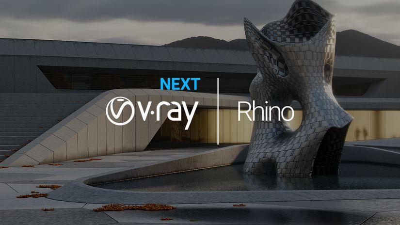 Chaos Group rilascia V-Ray Next per Rhino