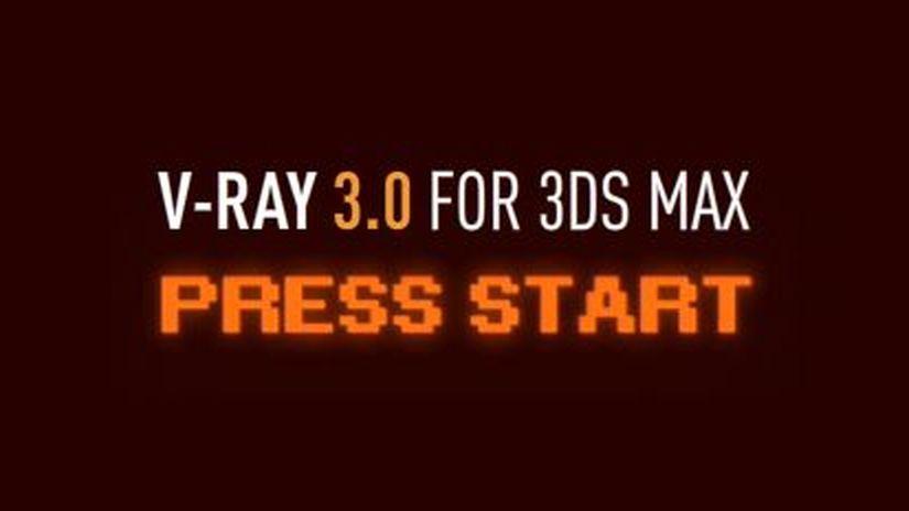 V-RAY 3.0 per 3ds max