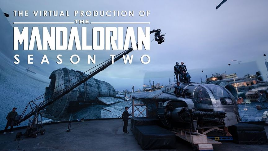 The Mandalorian Stagione 2: la virtual production