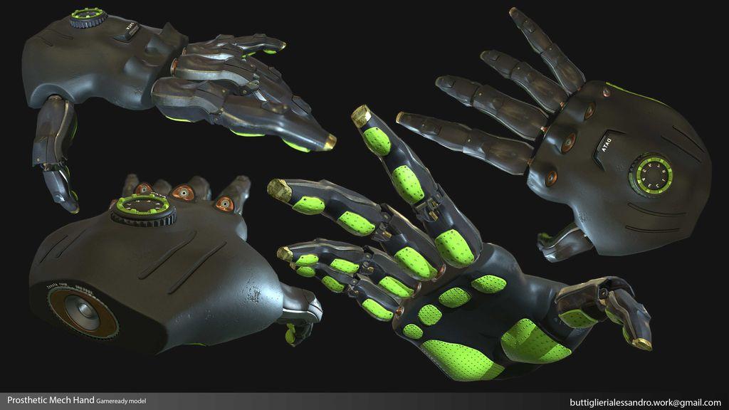 Prosthetic Mech Hand_gameready presentation.jpg