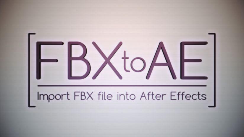 FBX to AE
