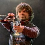 Tyrion, the God of wine (... no tits, today)