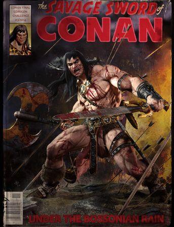 Conan (comicon challenge 2014)