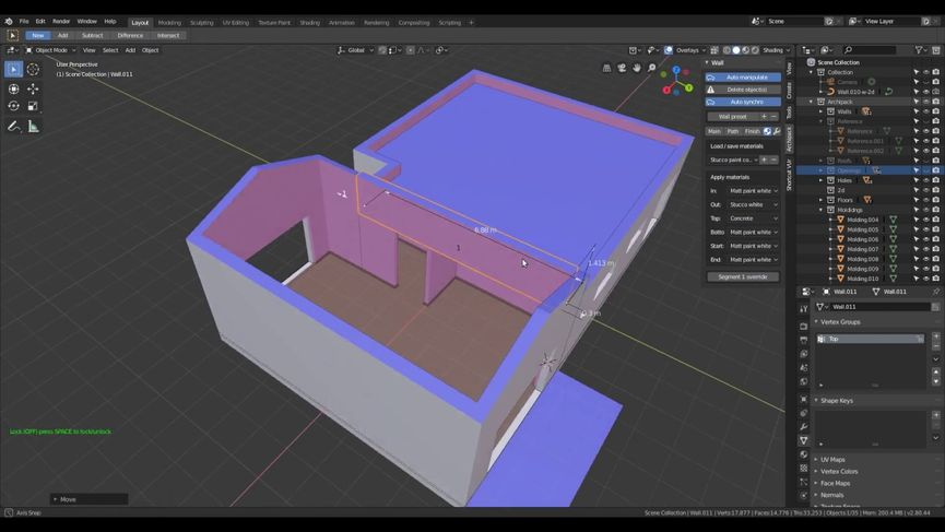Blender ArchiPak 2.0: add-on per la visualizzazione architettonica