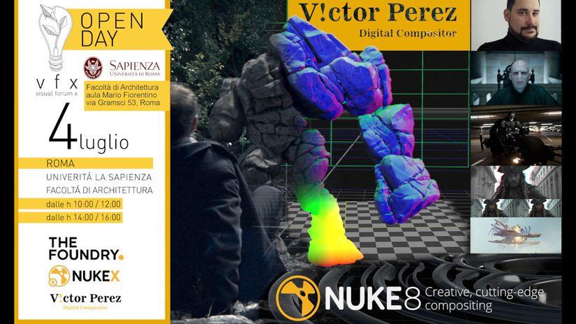 4 Luglio: Incontro con Victor Perez