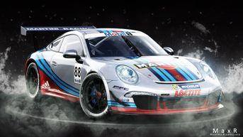 Porsche 911 Gt3 Martini racing