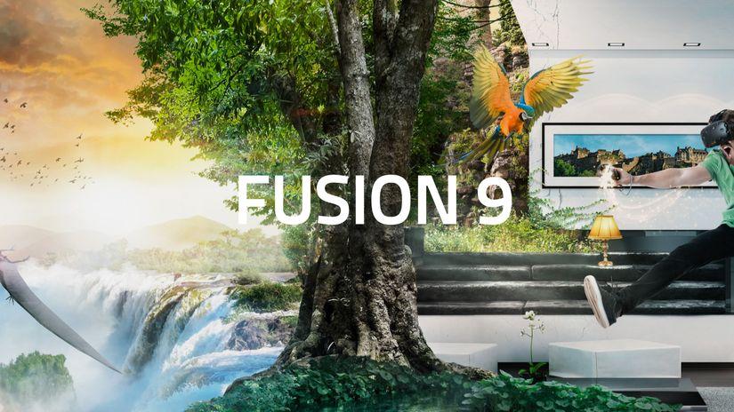 Fusion 9: in arrivo VR e un notevole taglio al prezzo