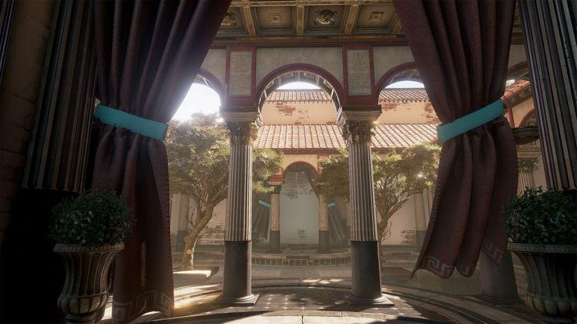 Domus Romana - Unreal Engine 4 riporta alla luce l'architettura classica