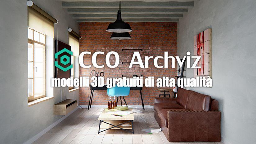 CC0 Archviz: modelli 3D gratuiti di qualità