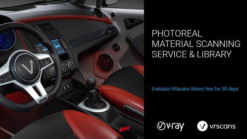 VRscans Library - una nuova grande risorsa... ai V-Ray Days 2016