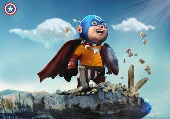 Captain America Baby Contest