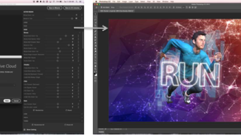 Photoshop CC 2015 e Fuse CC disponibili insieme