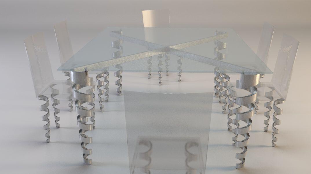 Spiral legs - versione 2