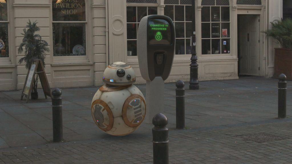 BB-8 in Brighton