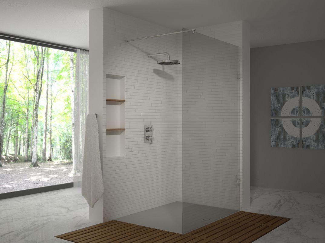 Rendering di una doccia