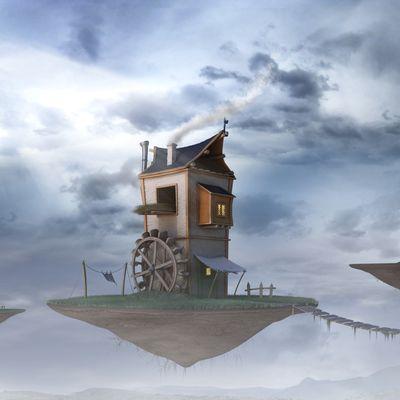 Flying Watermill