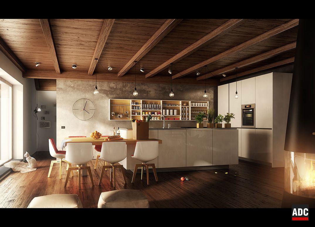 Villa Bonafe - zona cucina