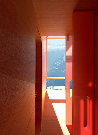 Ski Hut In Montagna, Interno