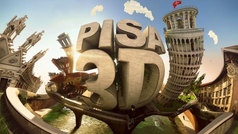 Pisa 3D: un evento gratuito sul mondo del 3D a Pisa