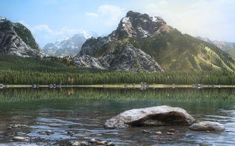 Tra le montagne e il silenzio