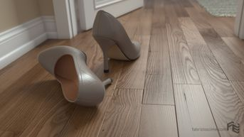 Pumps on parquet