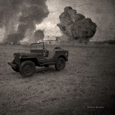 Old Photo Jeep Willys