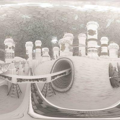 Bersabea Italo Calvino 3d print & 360° video