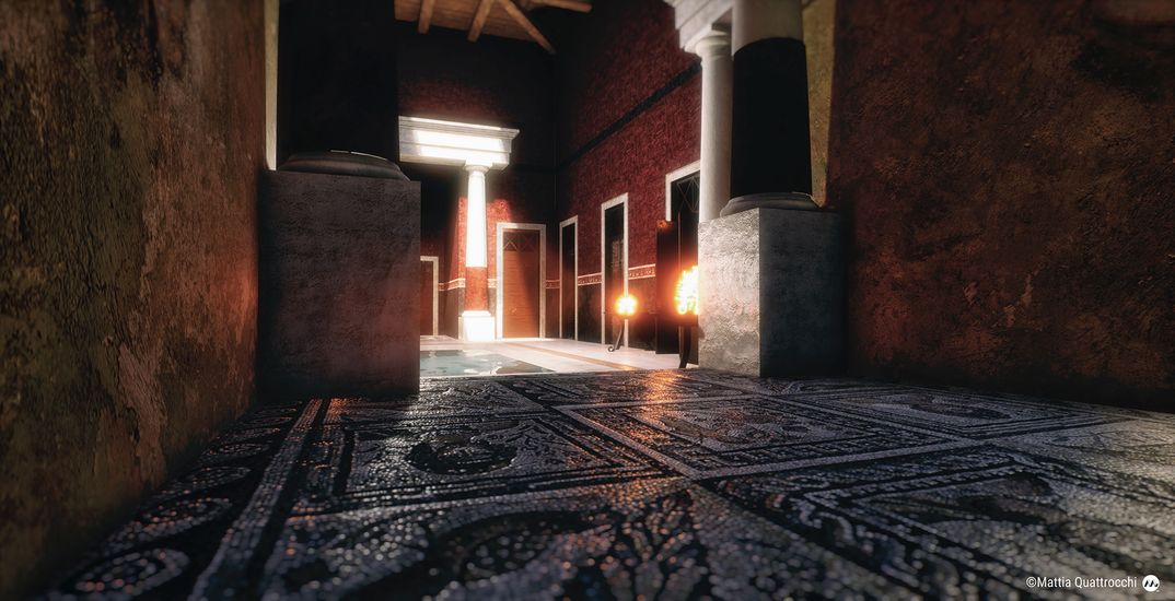 Domus Romana - Realtime VR Project
