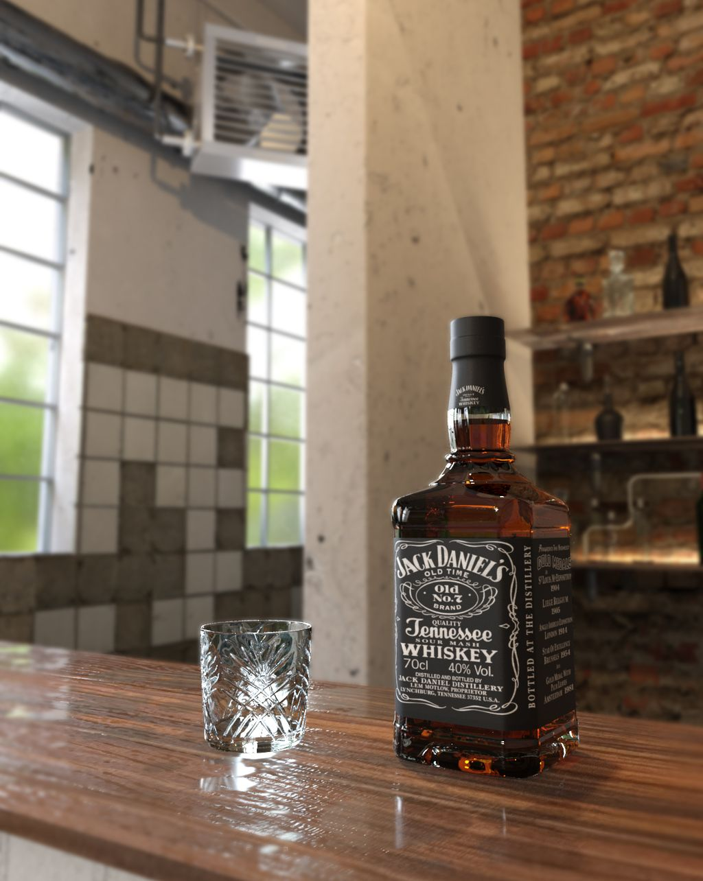 Omaggio a Jack Daniel's